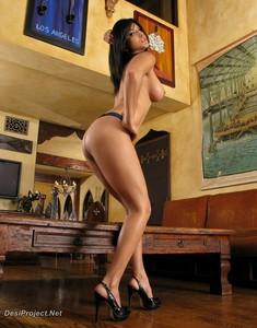 Sunny Leone in Black Lingerie