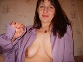 Wife_with_saggy_tits_and_a_dildo_up_her_asshole