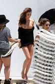 Miranda Kerr Desliz Oops Topless Miami 15 Mayo 2013