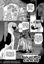 [Tachibana Takashi] Ready and Willing at the Pet Shop -English- (Hentai Bedta)